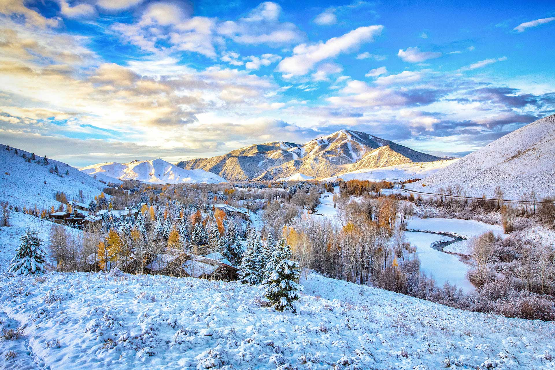 Winter in Sun Valley